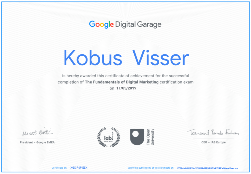 google_digital_certificate