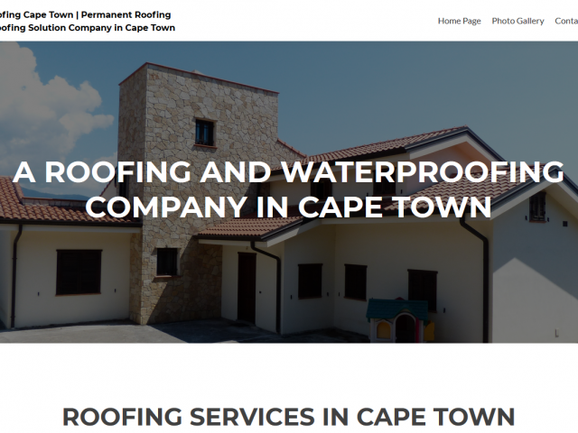 permanent roofing